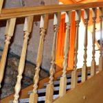 zábradlí schody Chalupa U Jezu