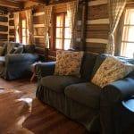 Obývací pokoj Chalupa U Jezu